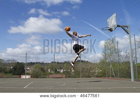 Basketball Slam Dunk
