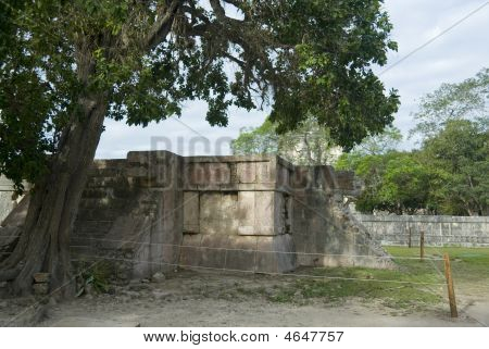 Platform Of The Eagles And Jaguars, Chichen Itza