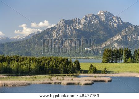 landscape in Bavaria
