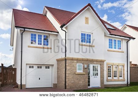 Detached Modern Family House