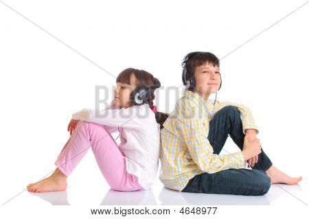 Kids Enjoying Music