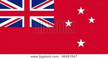 Flag Of New Zealand - Red Ensign.