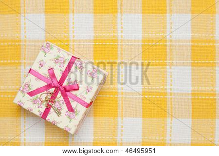 Gift Box Of Floral Design