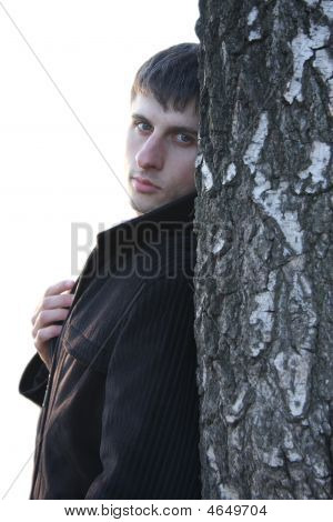 Guy And Tree
