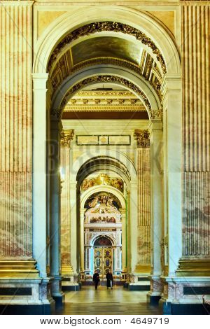 Colonnade In Cathedral