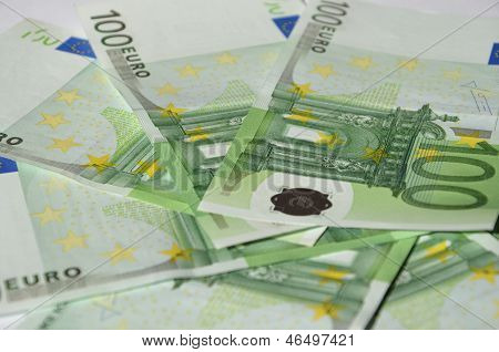 Hundred Euro Bills