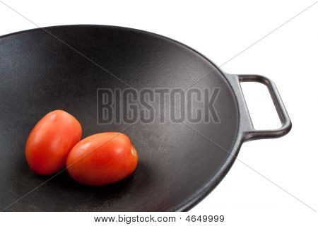 Tomatoes In Wok