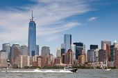 stock photo of freedom tower  - NEW YORK  - JPG