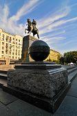 picture of yuri  - Yuri Dolgorukiy Statue in Moscow - JPG