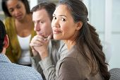 stock photo of counseling  - Meeting Of Support Group - JPG