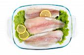 stock photo of hypophthalmus  - Pangasius hypophthalmus Iridescent shark with lemons close - JPG