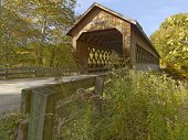 foto of trestle bridge  - Covered bridges in Northeast Ohio Counties - JPG