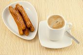 churros and coffee