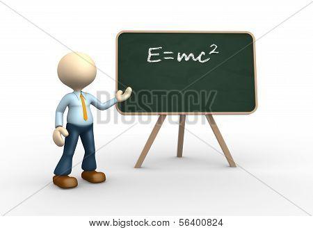 Einstein's Theorie.