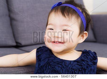 Risita de bebé niña