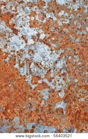 Textura de óxido