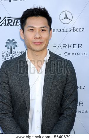 PALM SPRINGS - JAN 5:  Anthony Chen at the Variety's Creative Impact Awards And 10 Directors to Watch Brunch at Parker Palm Springs on January 5, 2014 in Palm Springs, CA