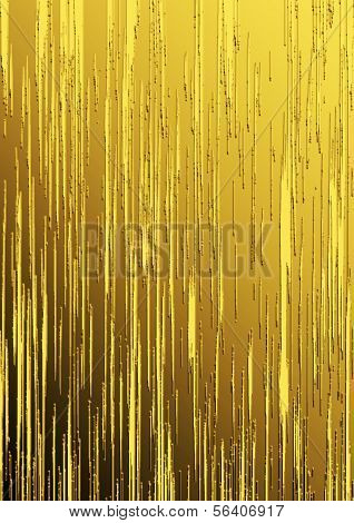 Golden Vertical Lines On Gradient