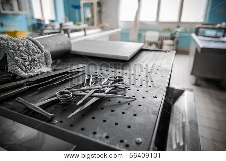 In An Hospital In The Dissecting Room The Devices