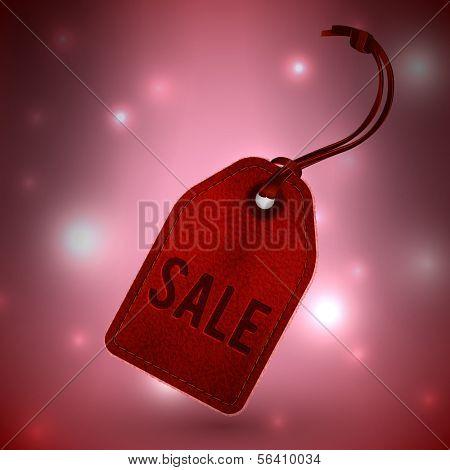 Sale tag illustration - eps10