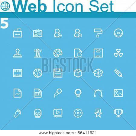 Common web icons