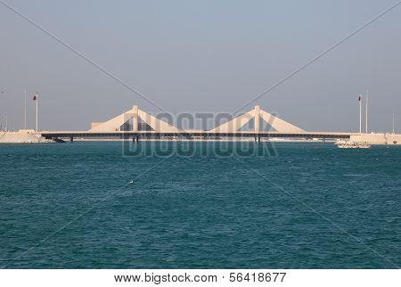Causeway Bridge In Bahrain