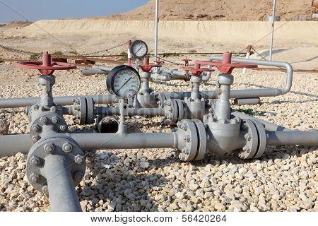 Oil Pipeline In Bahrain