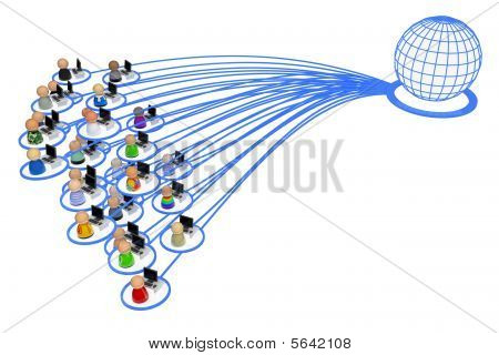 Cartoon Crowd, Internet User Group