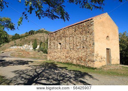 Chapel In Piogiolla, Corsica