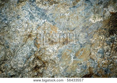 Grungy, Dirty Granite Rock Up Close Detail Background
