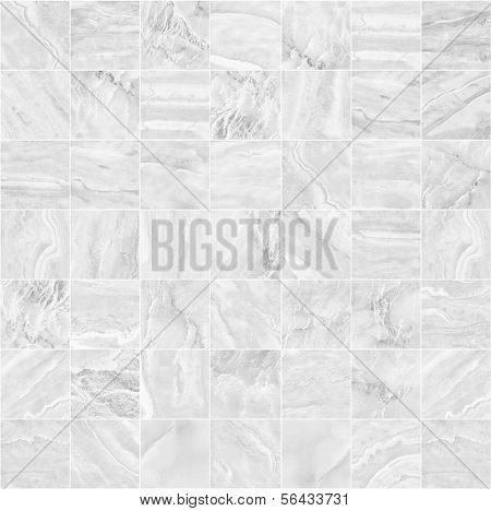 White mosaic pattern background.(High.res.)