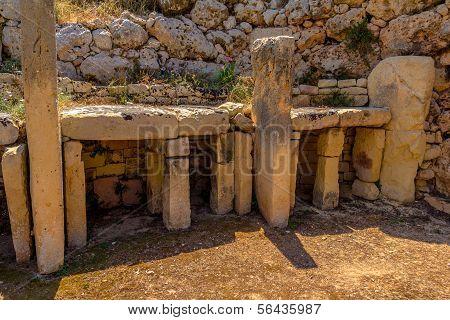 Ggantija Temple Rests