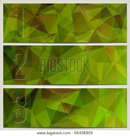 Infografía vector enumerado presentación moderna banner conjunto