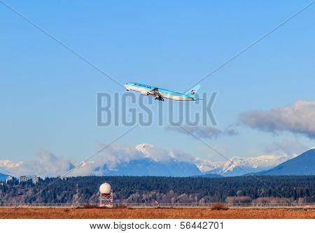 Korean Air Airplane
