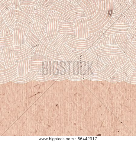 Abstract background of interwoven strands