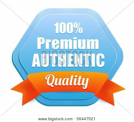 Premium Authentic Quality Badge