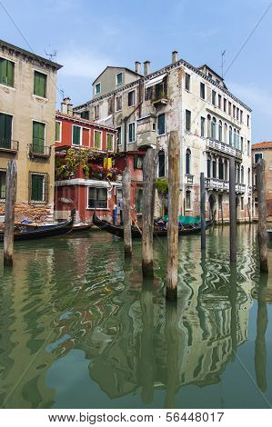Italy , Venice. Typical urban view