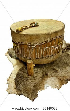 Native American Floor Drum