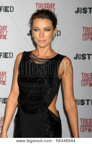 LOS ANGELES - JAN 6:  Natalie Zea at the