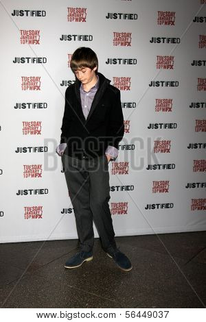 LOS ANGELES - JAN 6:  Jacob Lofland at the