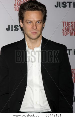 LOS ANGELES - JAN 6:  Jacob Pitts at the
