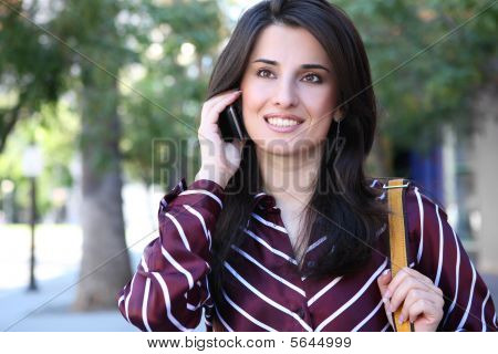 Attractive Indian Business Woman