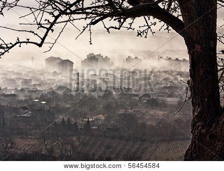 Ciudad??smog