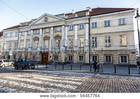 Classicist Raczynski Palace, Warsaw