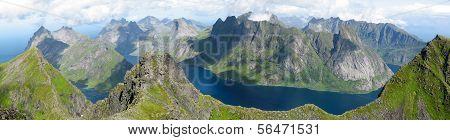Landscape In The Lofoten