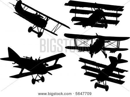 Colection Old Fight Plane.