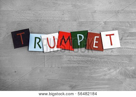 Trumpet, Sign Series for Music, Brass Bands and Orchestra