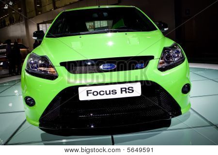 Moscow, Russia - 28 August, 2008: Ford Rs At Moscow International Exhibition Motorshow 2008, Moscow,