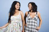Fashion Models In Summer Dresses