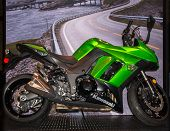 2014 Kawasaki Ninja, Michigan Motorcycle Show